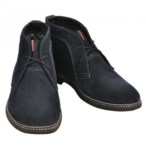 Ботинки НФ синий замш