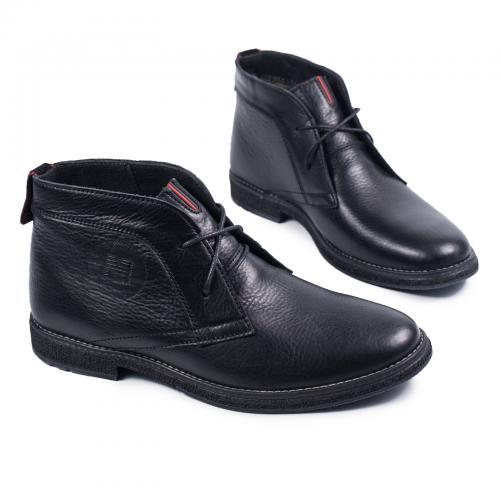 Ботинки НФ черная кожа
