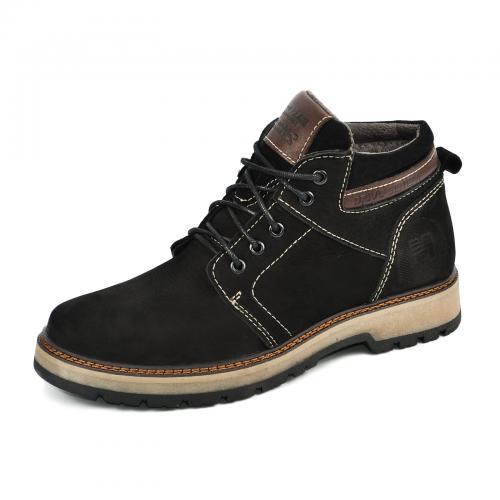 Ботинки Кет 2 черный нубук