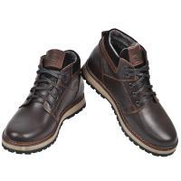Ботинки Кет 2 коричневая кожа