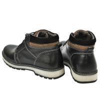 Ботинки Кет 2 черная кожа