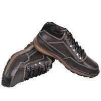 Ботинки МХ коричневая кожа