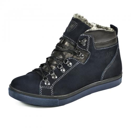 Ботинки Прайм синий нубук
