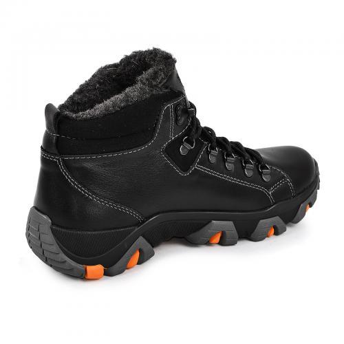 Ботинки Прайм 3 черная кожа