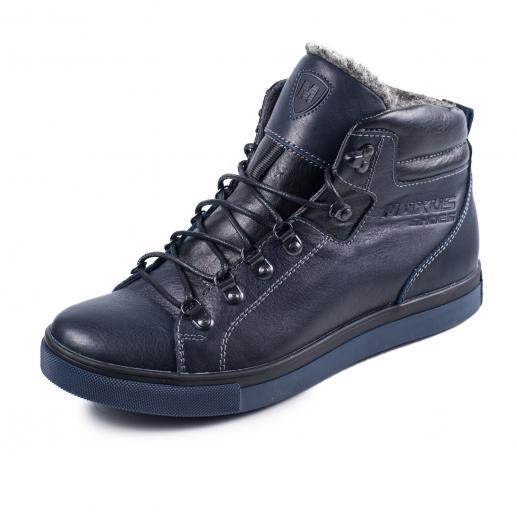Ботинки Прайм синяя кожа