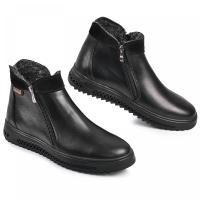 Ботинки РК 21 черная кожа