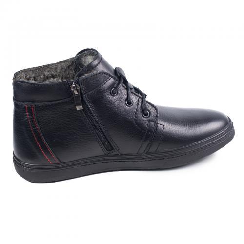 Ботинки РК-3 Ш черная кожа