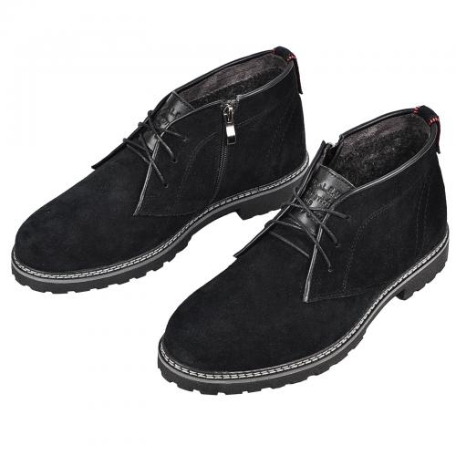 Ботинки Роки  черный замш