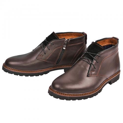 Ботинки Роки коричневая кожа