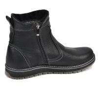 Ботинки С-1 черная кожа флотар