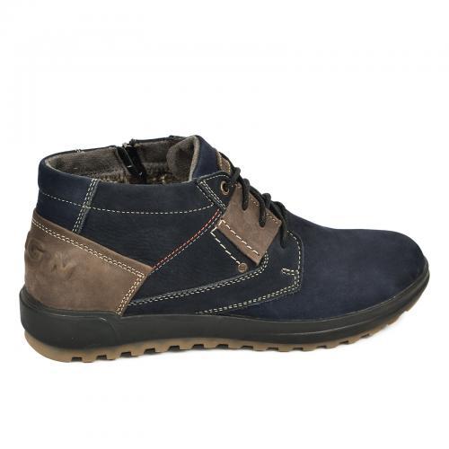 Ботинки Томи 2 синий нубук