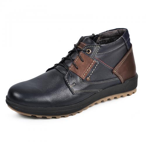 Ботинки Томи 2 синяя кожа