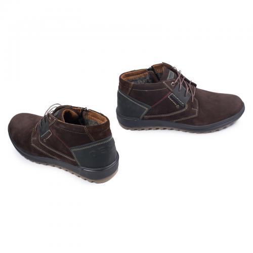 Ботинки Томи 2 коричневый нубук