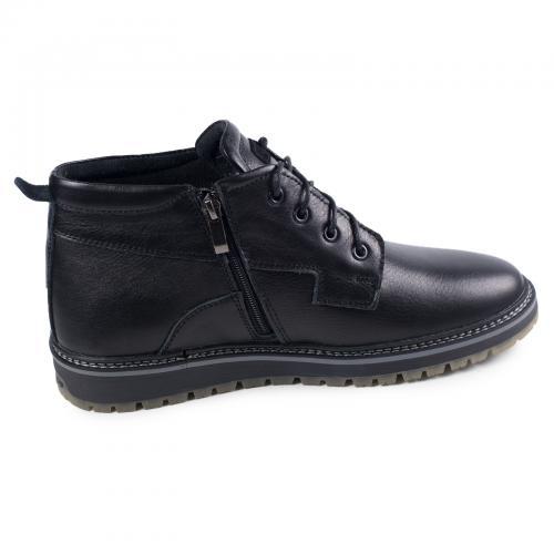 Ботинки Вебстер черная кожа