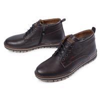 Ботинки Вебстер коричневая кожа