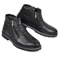 Ботинки 102 черная кожа