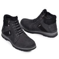 Ботинки Блэк черный мат