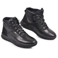 Ботинки Джу черная кожа