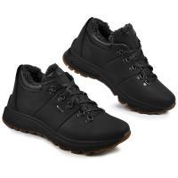 Ботинки Докер черный флотар