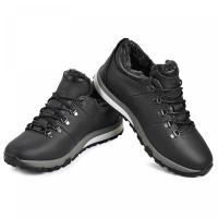 Ботинки Докер черная кожа