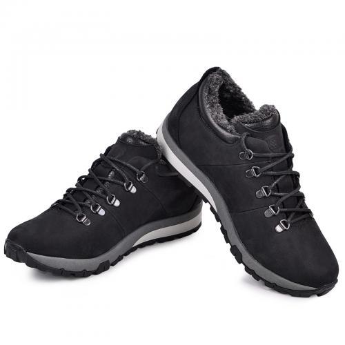 Ботинки Докер черный мат