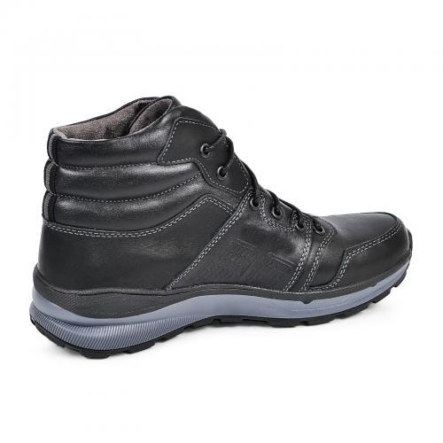 Ботинки Энерджи черная кожа