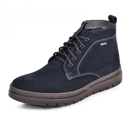 Ботинки Фешон 2 синий замш