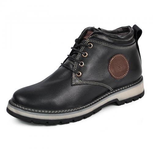 Ботинки Файф черная кожа