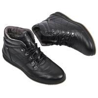 Ботинки Грин черная кожа