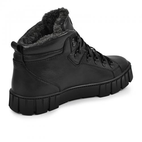 Ботинки Прайм 2 черная кожа
