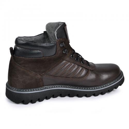 Ботинки Рибс  коричневая кожа