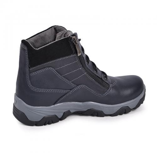 Ботинок Скипер синяя кожа