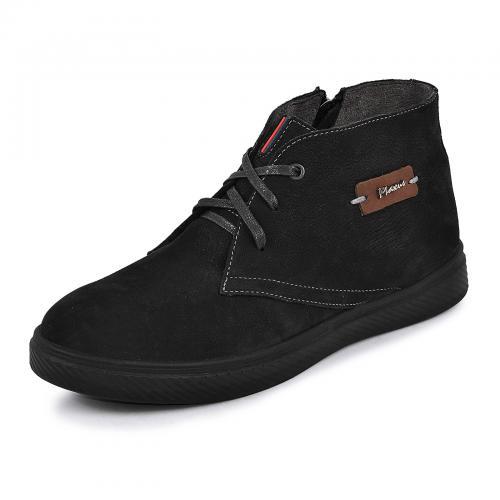 Ботинки Стайл черный нубук