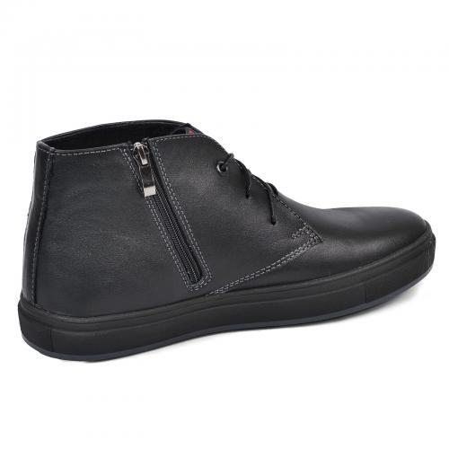 Ботинки Стайл черная кожа