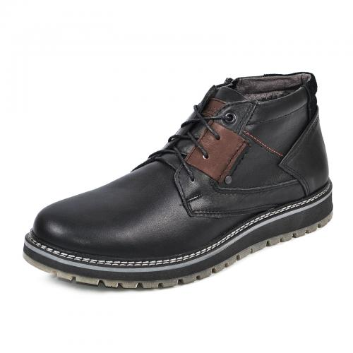 Ботинки Томи 3 черная кожа