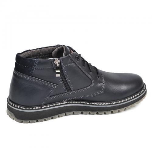Ботинки Томи 3 синяя кожа