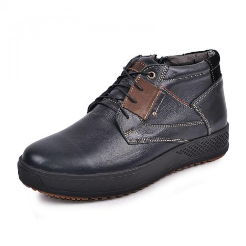 Ботинки Томи 4 синяя кожа