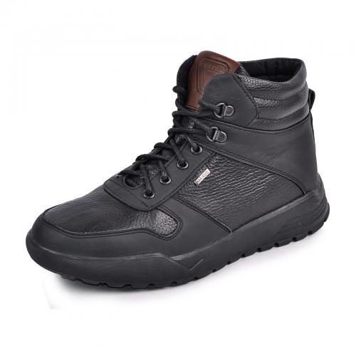 Ботинки Хост черная кожа