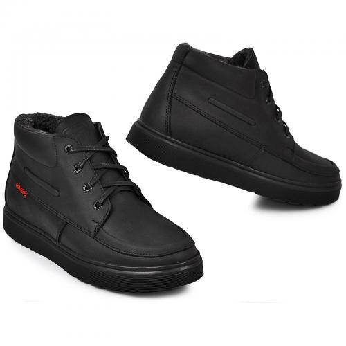 Ботинки Фидас черный тин