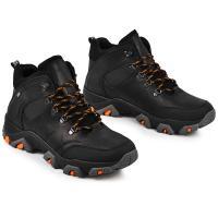 Ботинки Форс черная кожа