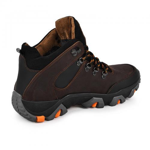 Ботинки Форс коричневая кожа