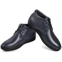 Ботинки Фози синяя кожа