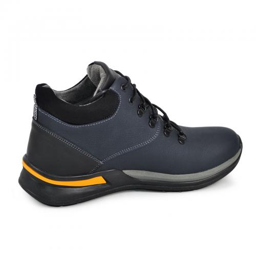 Ботинки Джерси-1 синий мат