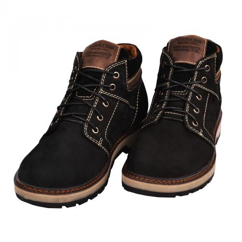 Ботинки Кет 2 коричневый нубук