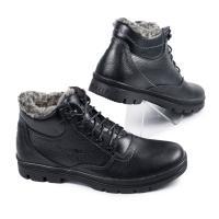 Ботинки 80 черная кожа