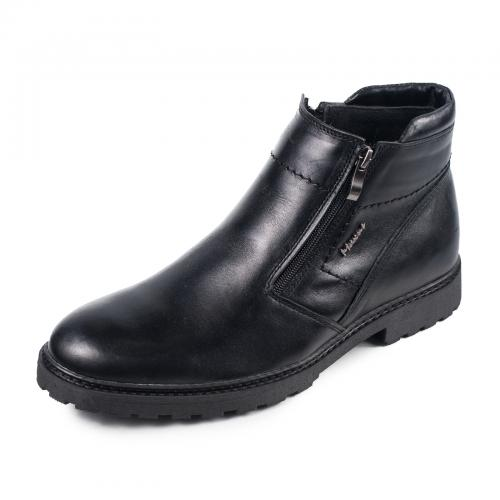 Ботинки 101 Ш черная кожа