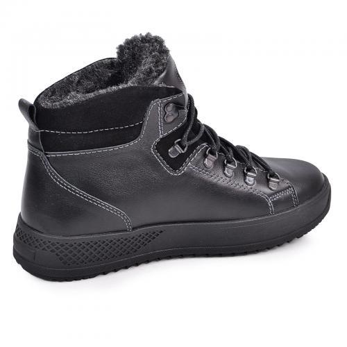 Ботинки Прайм черная кожа