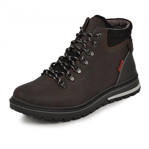 Ботинки Шарк коричневый тин