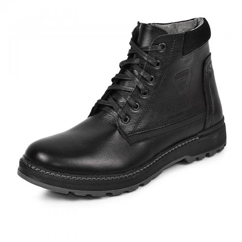 Ботинки Соло 2 черная кожа
