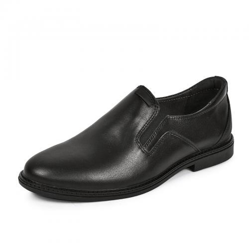 Туфель Марк черная кожа